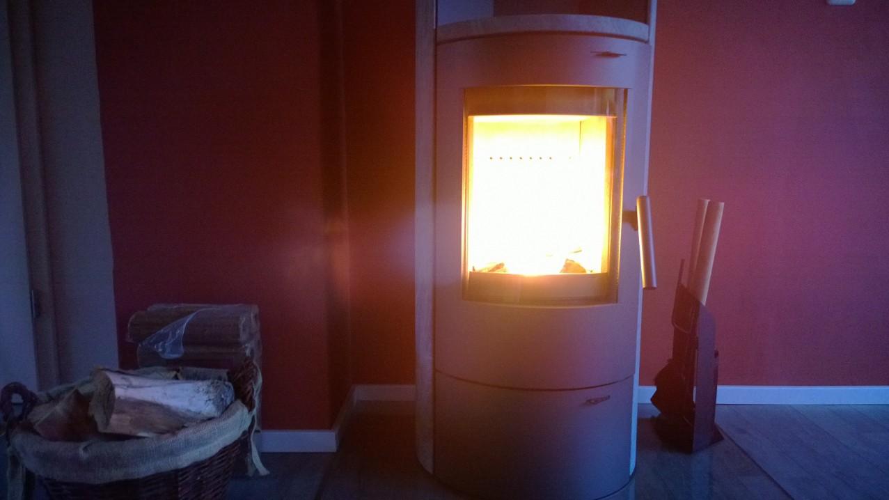 unser kaminofen brennt endlich zeit f r gem tlichkeit susanne braun speck. Black Bedroom Furniture Sets. Home Design Ideas